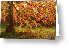 Shady Oak Greeting Card