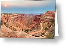 Shafer Canyon Greeting Card