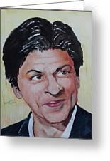 Shah Rukh Khan Greeting Card