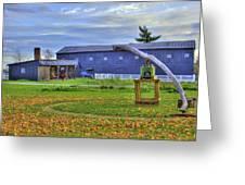 Shaker Barn And Sorghum Mill Greeting Card