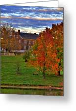Shaker Lake 9 Greeting Card