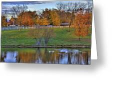 Shaker Lake 5 Greeting Card