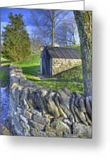 Shaker Stone Fence 6 Greeting Card
