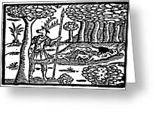 Shakespeare: Falstaff Greeting Card