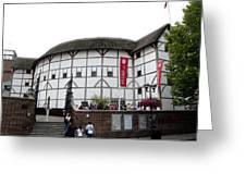 Shakespeare's Globe Theater Greeting Card