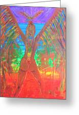 Shakti Angel Greeting Card