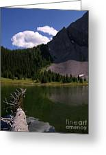 Shallow Mountain Lake Greeting Card