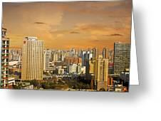 Shanghai - Paris Of The East Greeting Card