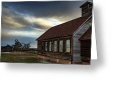 Shaniko Schoolhouse Greeting Card