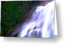 Shannon Falls Greeting Card