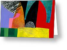 Shapes 5 Greeting Card