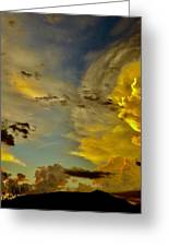 Shapes Of Heaven Greeting Card