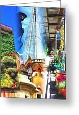 Shard Gardens Greeting Card
