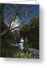 Sharing The Moment Greeting Card