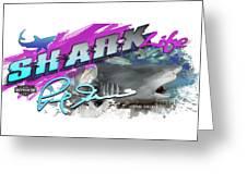 Shark Life Pink Lemon Shark Greeting Card
