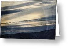 Shasta Trinity National Forest Sunrise Greeting Card