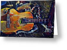 Shattered Melody Greeting Card