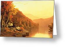 Shawanagunk Mountains Greeting Card