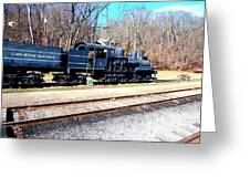 Shay Engine Greeting Card