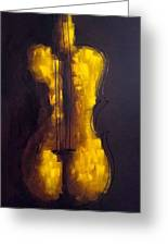She Is Violin Greeting Card