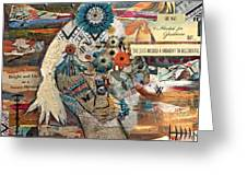 She Was Headed For Greatness Greeting Card