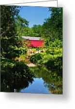 Sheards Mill Bridge - Nockamixon Pa Greeting Card