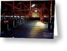Shearing Shed From A Bygone Era Greeting Card