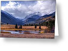Sheep Lakes Autumn Greeting Card