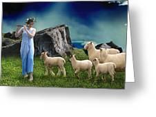 Sheep Whisperer Greeting Card