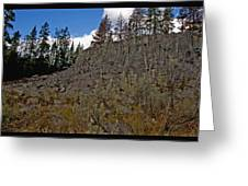 Sheepeater Cliffs  Greeting Card