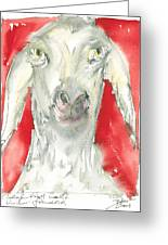 Sheeps Are Not Always Kind .... Greeting Card