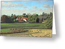 Sheering Hall Near Harlow Essex Greeting Card