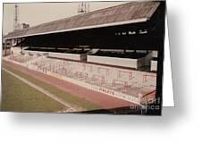 Sheffield United - Bramall Lane - John Street Stand 1 - 1970s Greeting Card