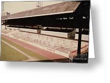 Sheffield United - Bramall Lane - John Street Stand 2 - 1970s Greeting Card