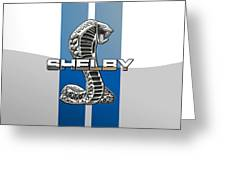 Shelby Cobra - 3d Badge Greeting Card