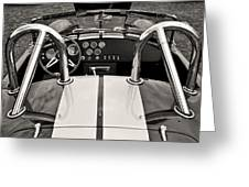 Shelby Cobra Greeting Card