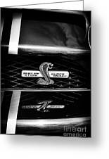 Shelby Gt 500 Super Snake Greeting Card