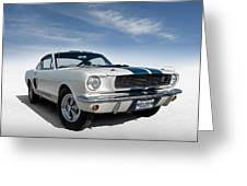 Shelby Mustang Gt350 Greeting Card