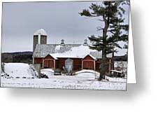 Sheldon Barn Greeting Card