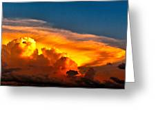 Shelf Cloud 01 Greeting Card