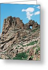 Shelf Road Rock Formations Greeting Card