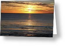 Shell Beach Sunset Greeting Card