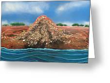 Shell Mound Greeting Card