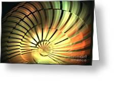 Shell Star Greeting Card