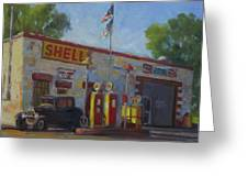 Shell Station Brown County Greeting Card