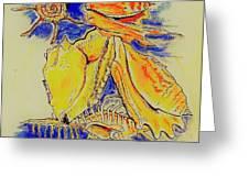 Shell Treasures Greeting Card