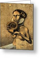 Shell Eater Greeting Card