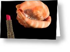 Shellular Lipstick 20090808 Greeting Card