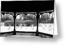 Shelter From The Storm       Landscape     Indiana Greeting Card
