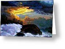 Shelter From The Storm Greeting Card